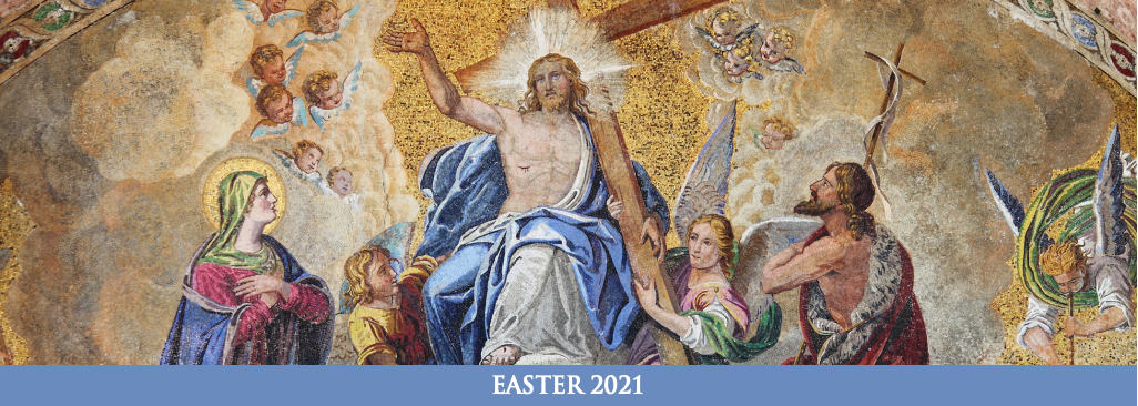 [Archbishop Easter Letter 2021 header]